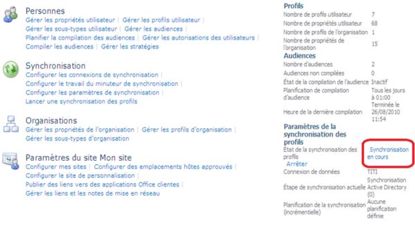 Application de service de profil utilisateur