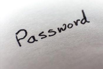 Définir les règles des mots de passe