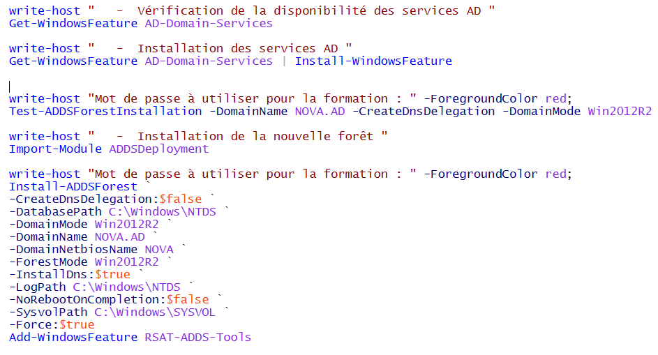 Domaine Active Directory
