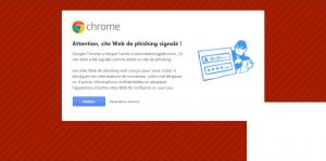 Attaque de phishing