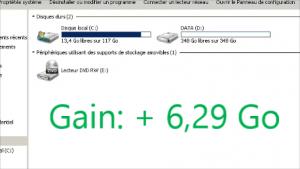 INFDEB021 Libérer Espace Disque C Windows 7 pour débutant #1 [résolu]